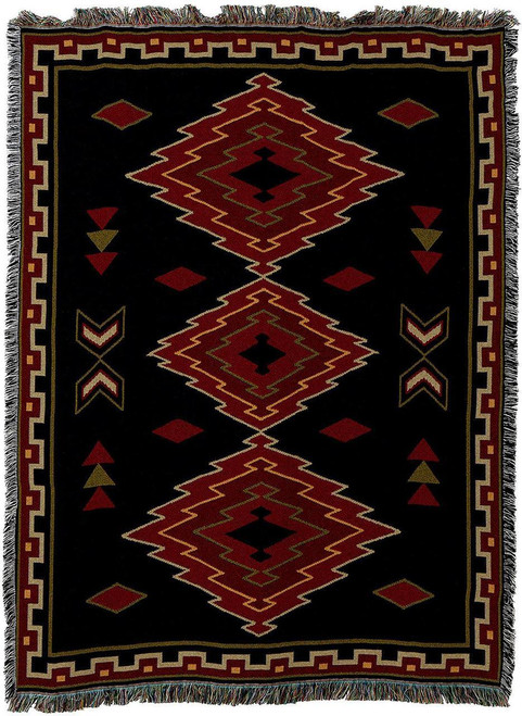 Taos Tapestry Throw