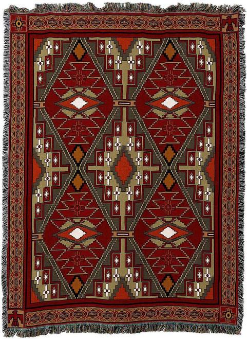 Trailwalker Tapestry Throw Blanket