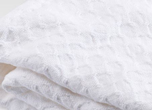 White Starry Nights Cotton Blanket Twin