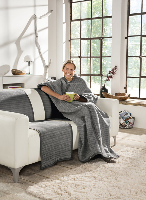 Fano Snuggly Zipper Blanket Wrap