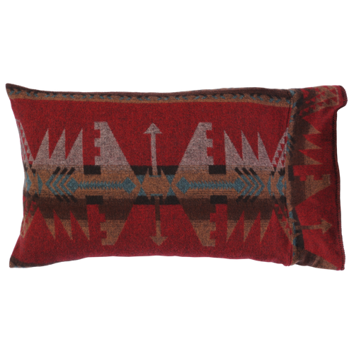Wooded River Yellowstone III Fabric Pillow Sham