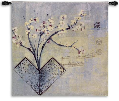 Zen Flower Tapestry Wall Hanging PC-5718-WH