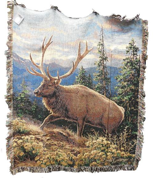 Siskiyou Bluff Elk Throw