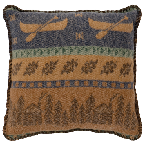 Wooded River Lakeshore II Pillow