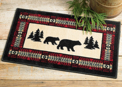 Bear Adventure Area Rug