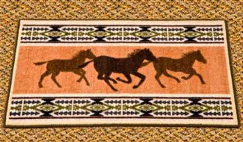 Horse Fever Area Rug