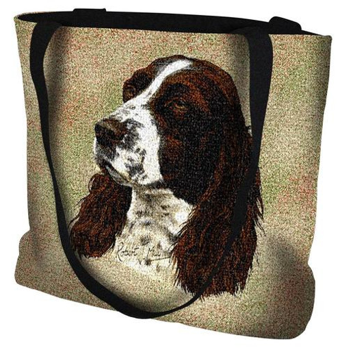 Springer Spaniel Dog Tote Bag