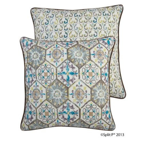 Front and Back of Orleans Pillow 2407-055