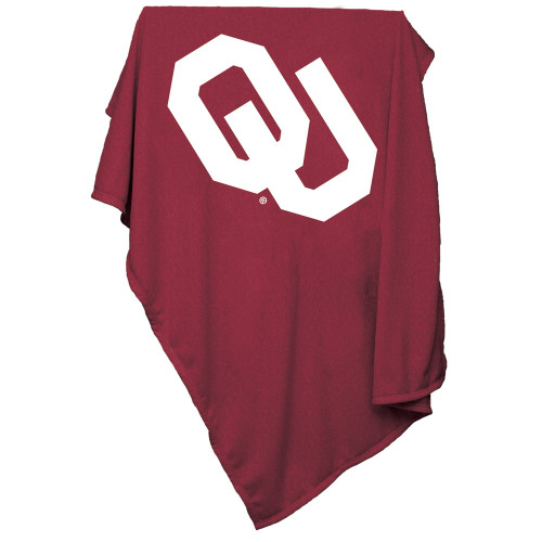 Oklahoma Sooners 54x84 Sweatshirt Throw Blanket