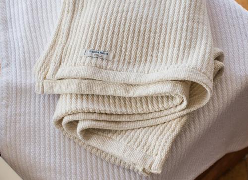 Brahms Mount Organic Cotton Acadia Baby Blanket