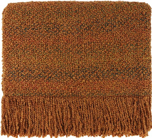 Kennebunk Home Campbell Rust Throw Blanket