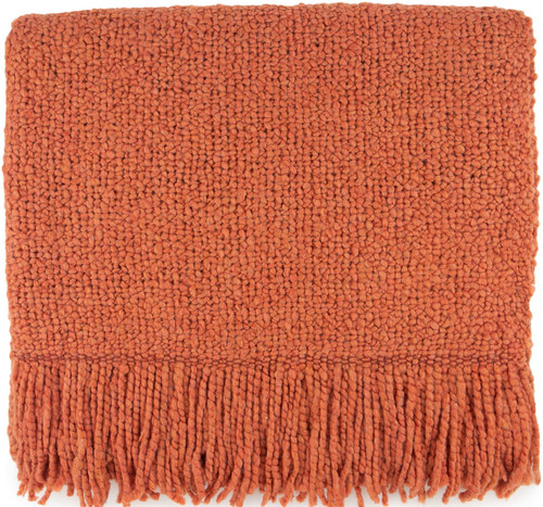 Kennbunk Home Campbell Mango Acrylic Throw Blanket