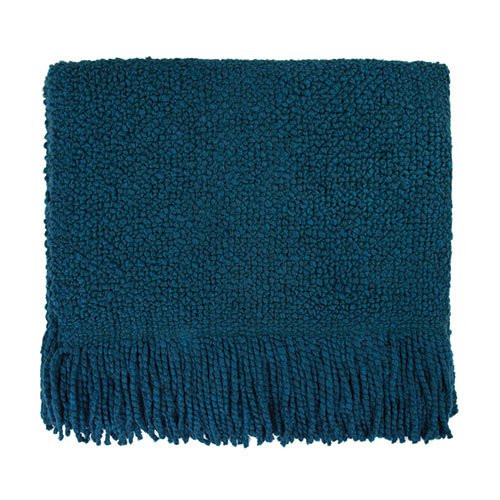 Kennebunk Home Campbell Teal Throw Blanket