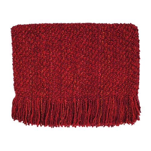 Kennebunk Home Canyon Throw - Scarlet