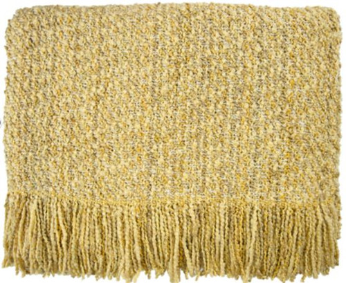 Canyon Daffodil Throw Blanket