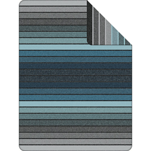 Belmont Stripe Navy Throw Blanket