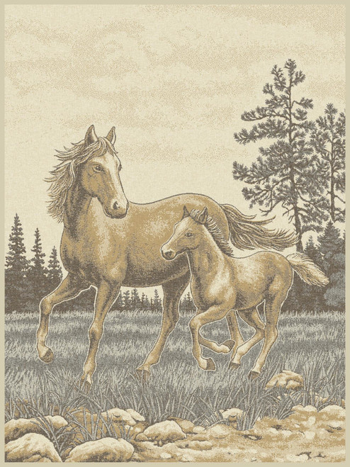 Ibena Sorrento Mare and Foal Horse Blanket