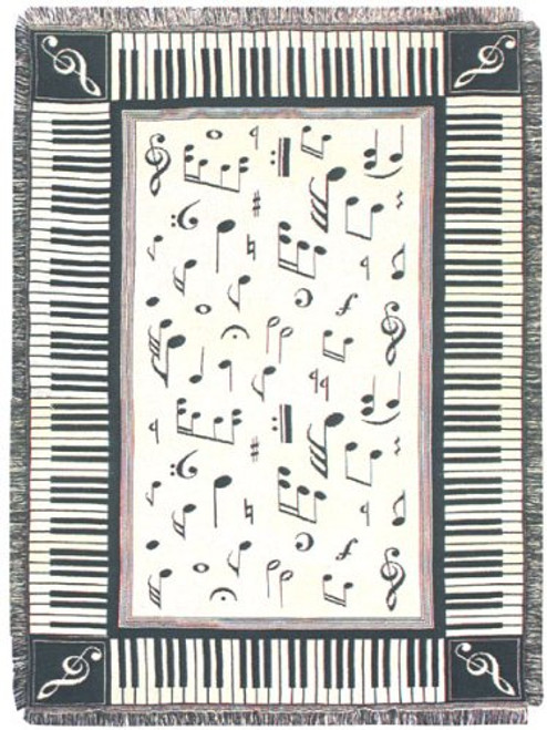 Melody Tapestry Throw blanket