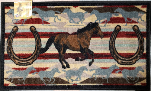 Horse Gallop Rug with non-skid backing