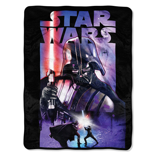 Star Wars Classic - Darth Night Micro Raschel Throw Blanket