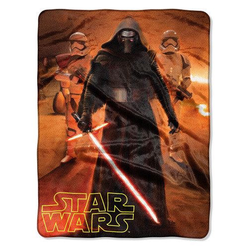 Star Wars Force Trio Silk Touch Throw Blanket