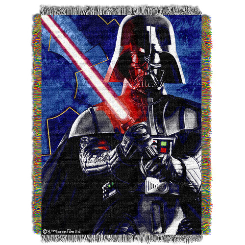 "Star Wars ""Sith Lord"" Woven Tapestry Throw Blanket"