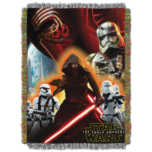 Star Wars EPS 7 - Ground Invasion Woven Tapestry Throw Blanket