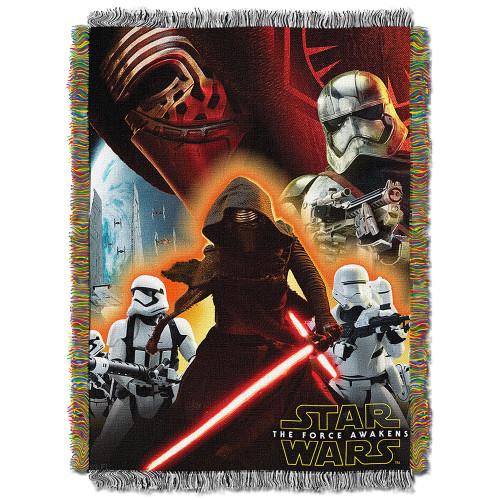 Star Wars EPS 7 - Ground Invasion Woven Tapestry Throw Blanket
