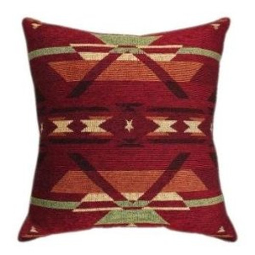 Flame Tapestry Pillow