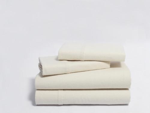 Naturesoft Organic Cotton Flannel Sheet Set Twin Size