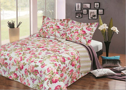 Gezrae Floral Sheet Set Queen