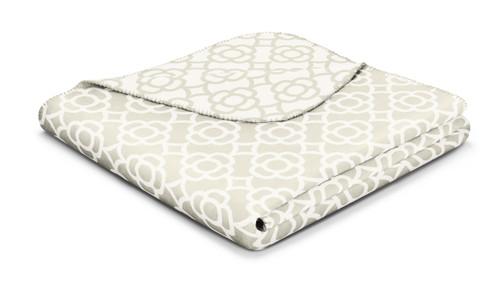 Biederlack Soft Impression Mosaic Blanket
