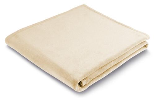 Biederlack Uno Natural Full / Queen Size Blanket