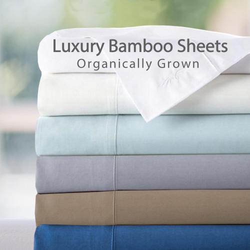 XL Twin Luxury 100 Percent Rayon From Bamboo Sheet Set