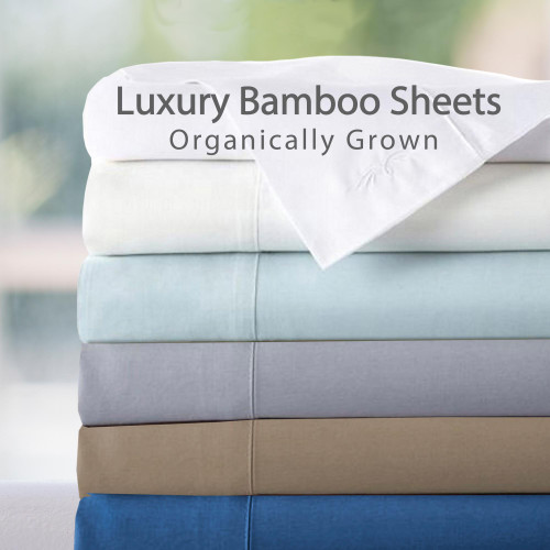 Split King 100 Percent Rayon From Bamboo Sheet Set
