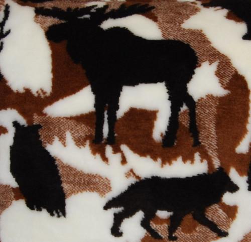 Theme-O-Flage Lodge Chocolate fabric