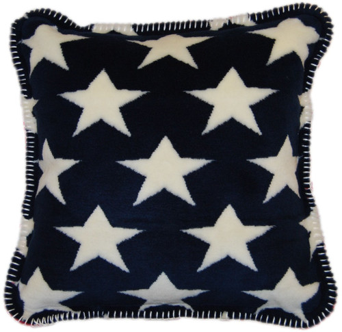 Stars/Stripes #404 18x18 Inch Throw Pillow