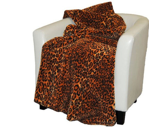 Jaguar/Black #817 50x60 Inch Throw Blanket