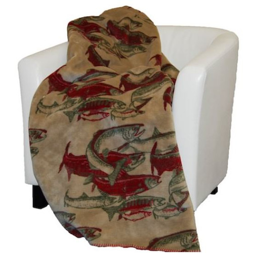 Pacific Five/Sage #253 60x70 Inch Throw Blanket