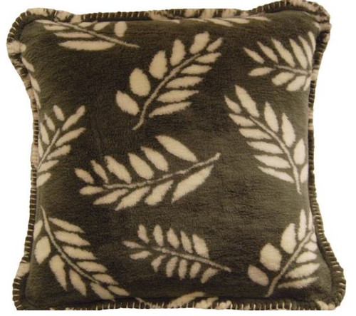Sage Fern/Pearl Fern #316 18x18 Inch Throw Pillow