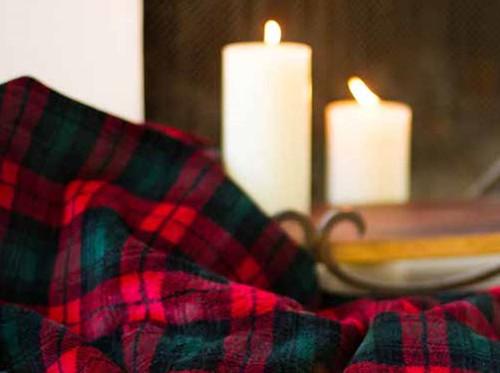 Classic Plaid/Spruce #619 60x70 Inch Throw Blanket