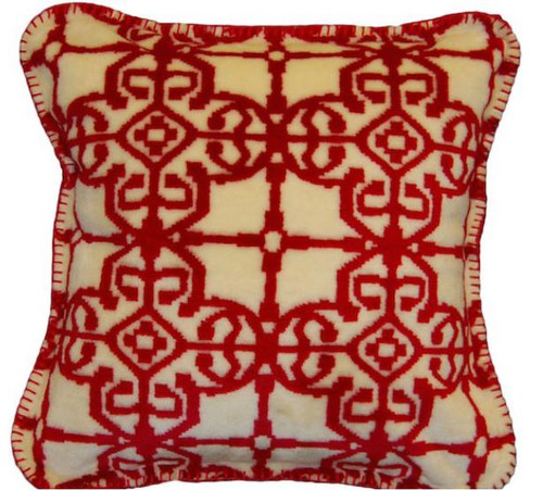 Moroccan/Garnet #944 18x18 Inch Throw Pillow