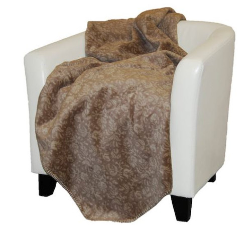 Stone Tapestry/Stone #252 60x70 Inch Throw Blanket