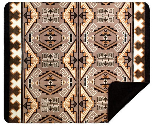 Denali Trader Blanket/Black #226 50x60 Inch Throw Blanket