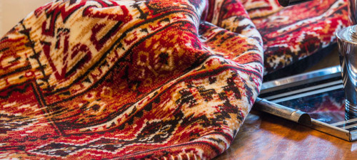 Canyon Pass/Chocolate #232 60x70 Inch Throw Blanket