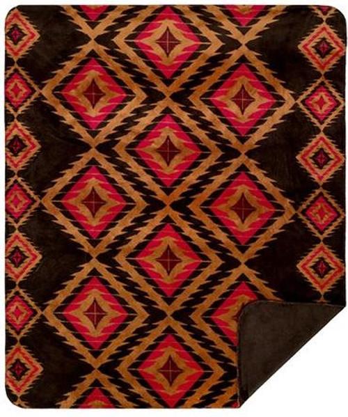 Denali Red Diamond Blanket