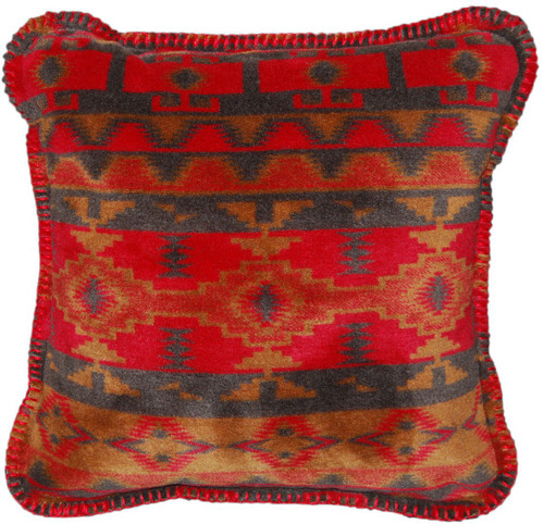 Earth Spirit/Taupe #914 18x18 Inch Throw Pillow