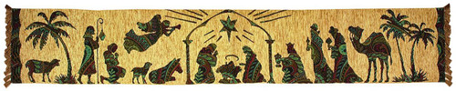 Away in a Manger Table Runner by Manual Woodworkers & Weavers