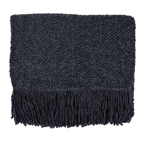 Kennebunk Home Campbell Charcoal Throw Blanket