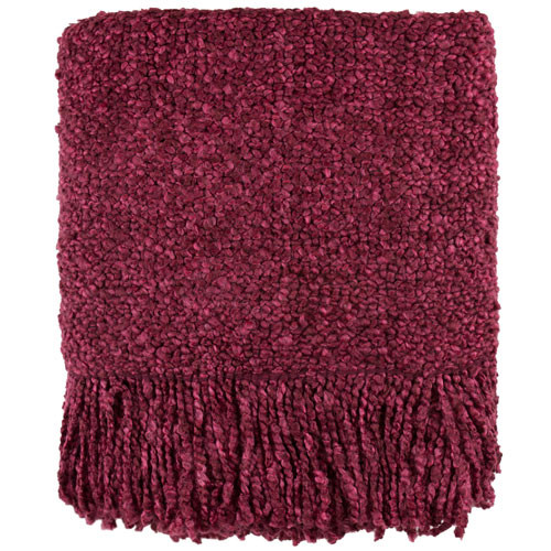 Kennebunk Home Campbell Claret Throw Blanket